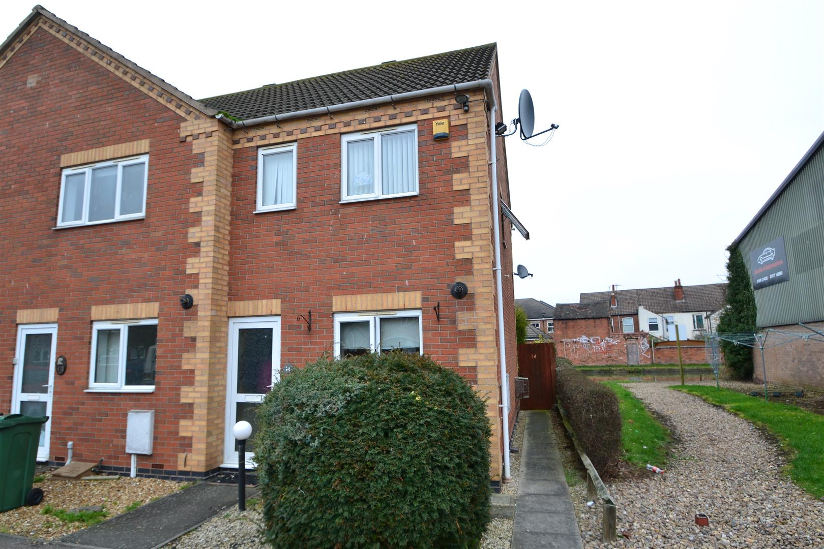2 Bedrooms Semi Detached House for sale in Annies Wharf, Loughborough